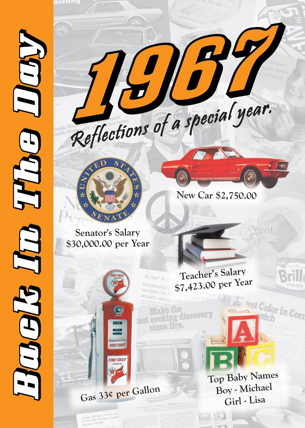 1967 Back In The Day Almanac -- 24-page Booklet / Greeting Card pdf