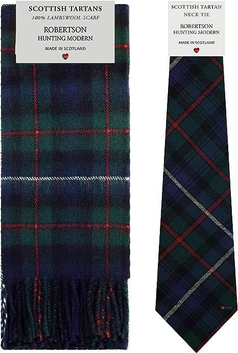 I Luv LTD Juego de regalo de bufanda y corbata de lana de cordero ...