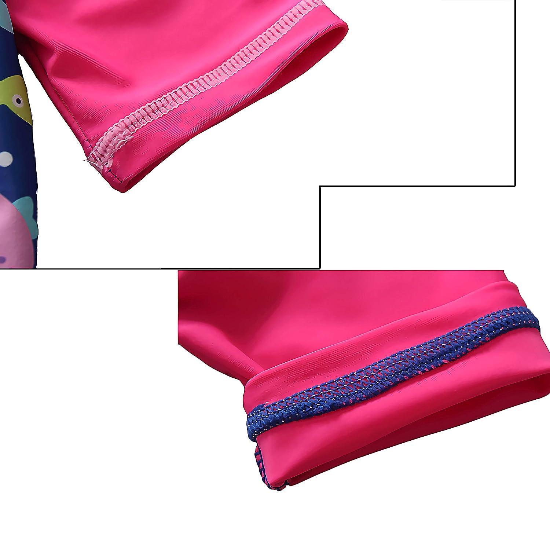 Rash Guard Set Kinder Badeanzug Shirt Trunk Set 1-5Year 7-Mi Jungen Sonnenschutz UPF 50