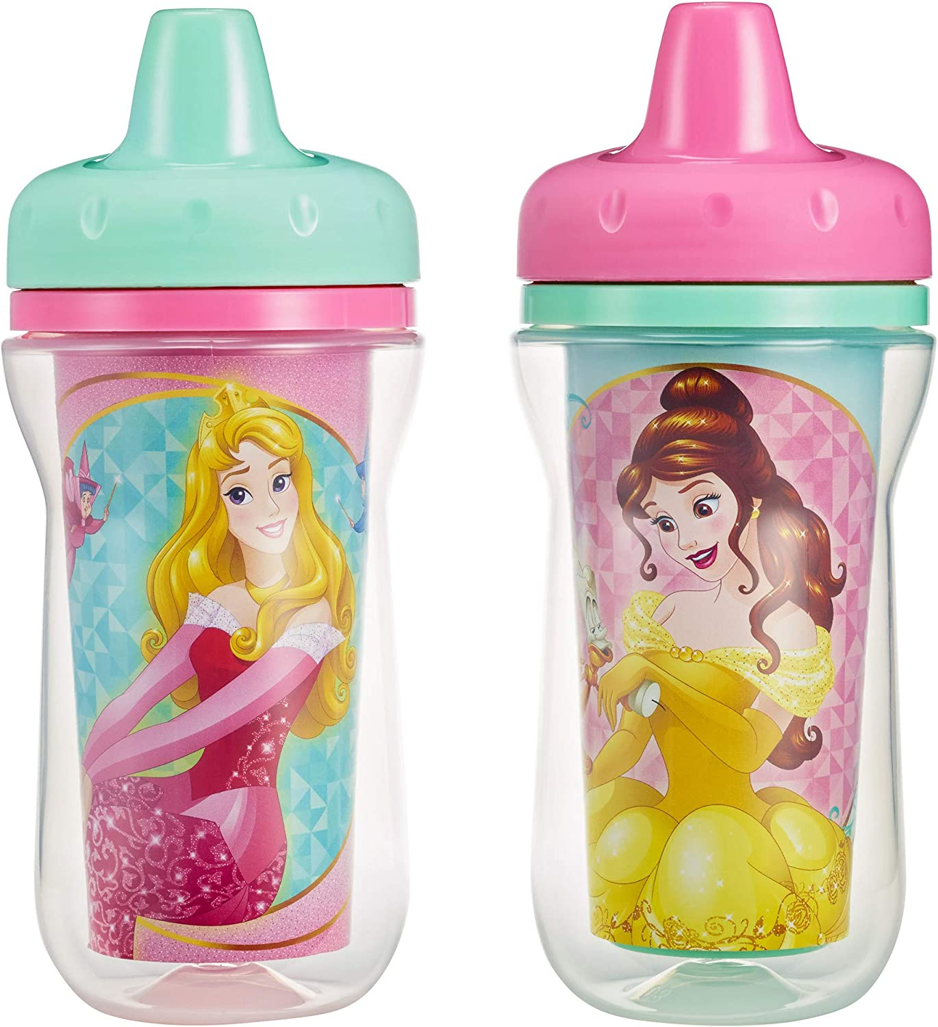 The First Years 9oz Disney Princess Insulated Cup (Pack of 2)