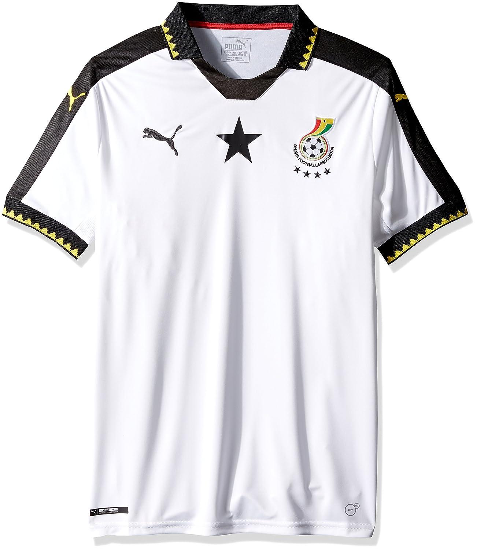 427071e28 PUMA Men's Ghana Home Replica Shirt at Amazon Men's Clothing store: