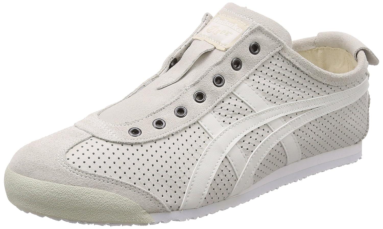 Asics Mexico 66 Slip-On, Zapatillas Unisex Adulto 45 EU|Blanco (White/White 0101)