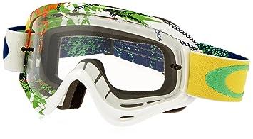 oakley goggles mx  Amazon.com : Oakley XS O-Frame MX Moto Monster Goggles (White ...
