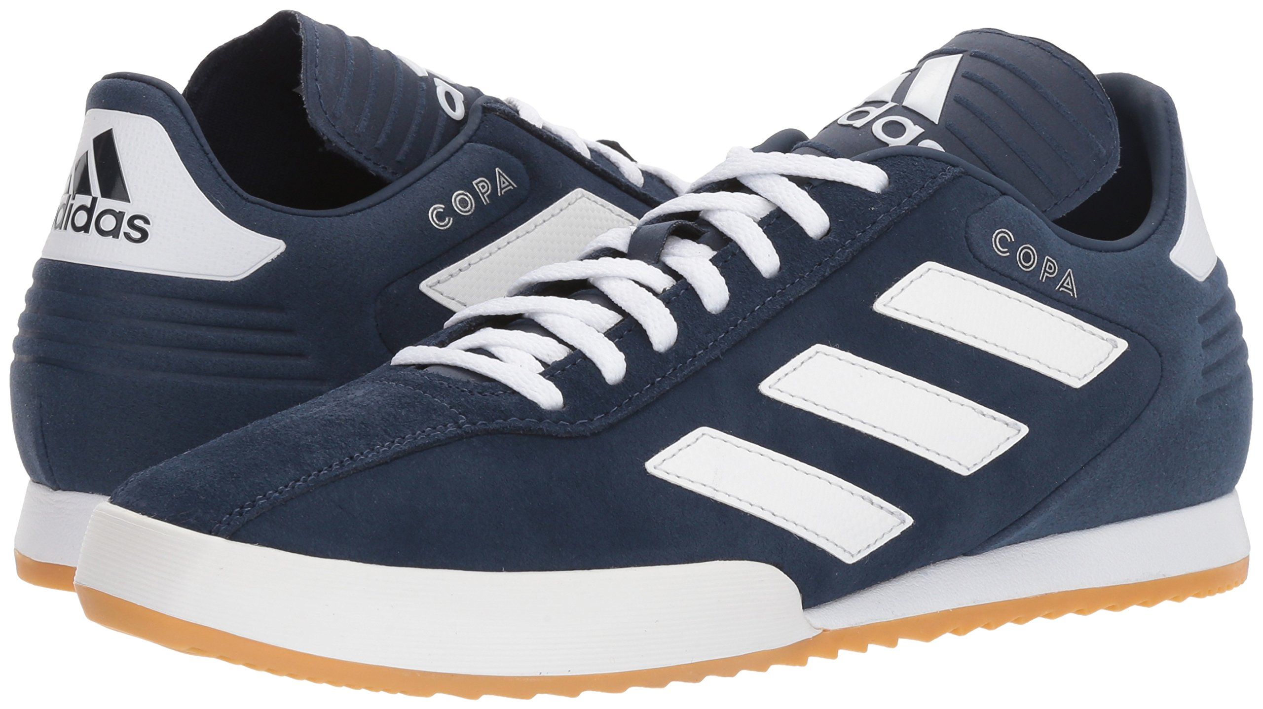 adidas Men's Copa Super Soccer Shoe White/Collegiate Navy, 7 M US by adidas (Image #6)