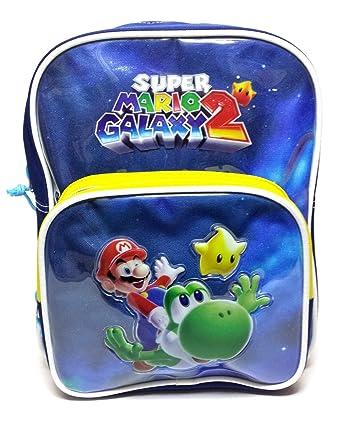 Super Mario Mochila Guardería Galaxy 2 crt1060607: Amazon.es: Ropa y accesorios