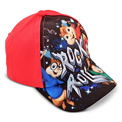 Alvin and The Chipmunks Little Boys Rock n Roll Cotton Baseball Cap, Age 3-7