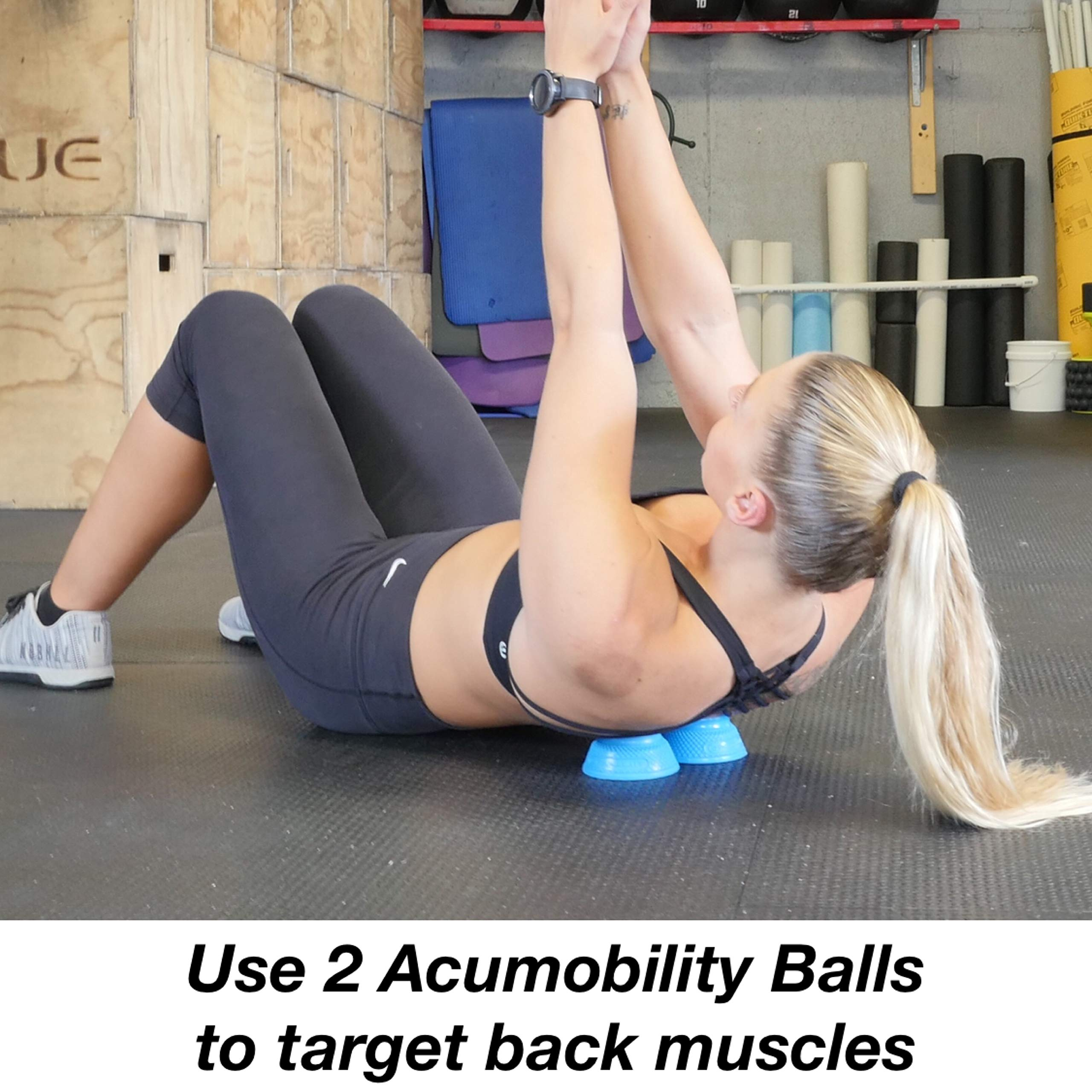 Acumobility Level 2 (Blue) Trigger Point Ball by Acumobility