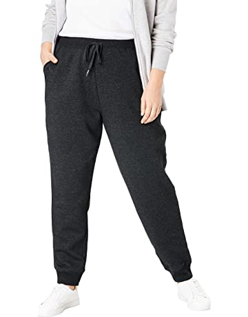 14944fed824d Woman Within Women's Plus Size Petite Better Fleece Jogger Sweatpant