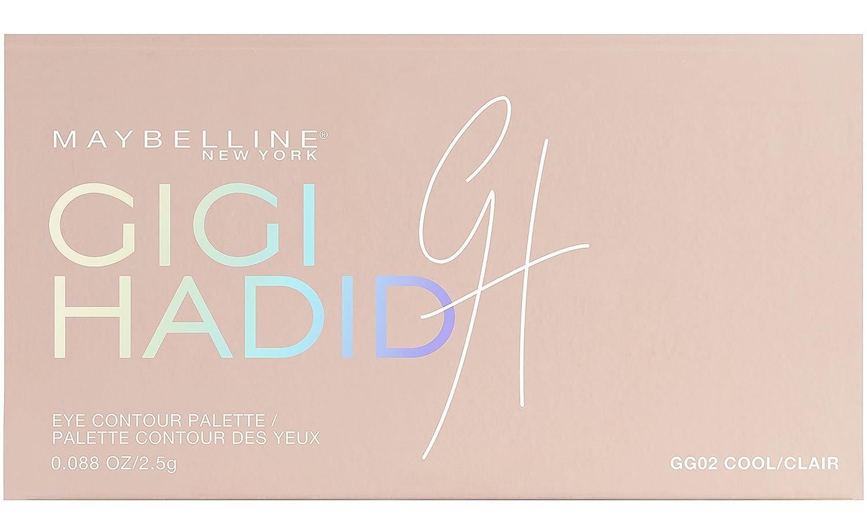 Maybelline New York Collezione Gigi Hadid East Coast Glam Look Palette Ombretti per Contouring Occhi in Edizione Limitata, Warm 3600531482152