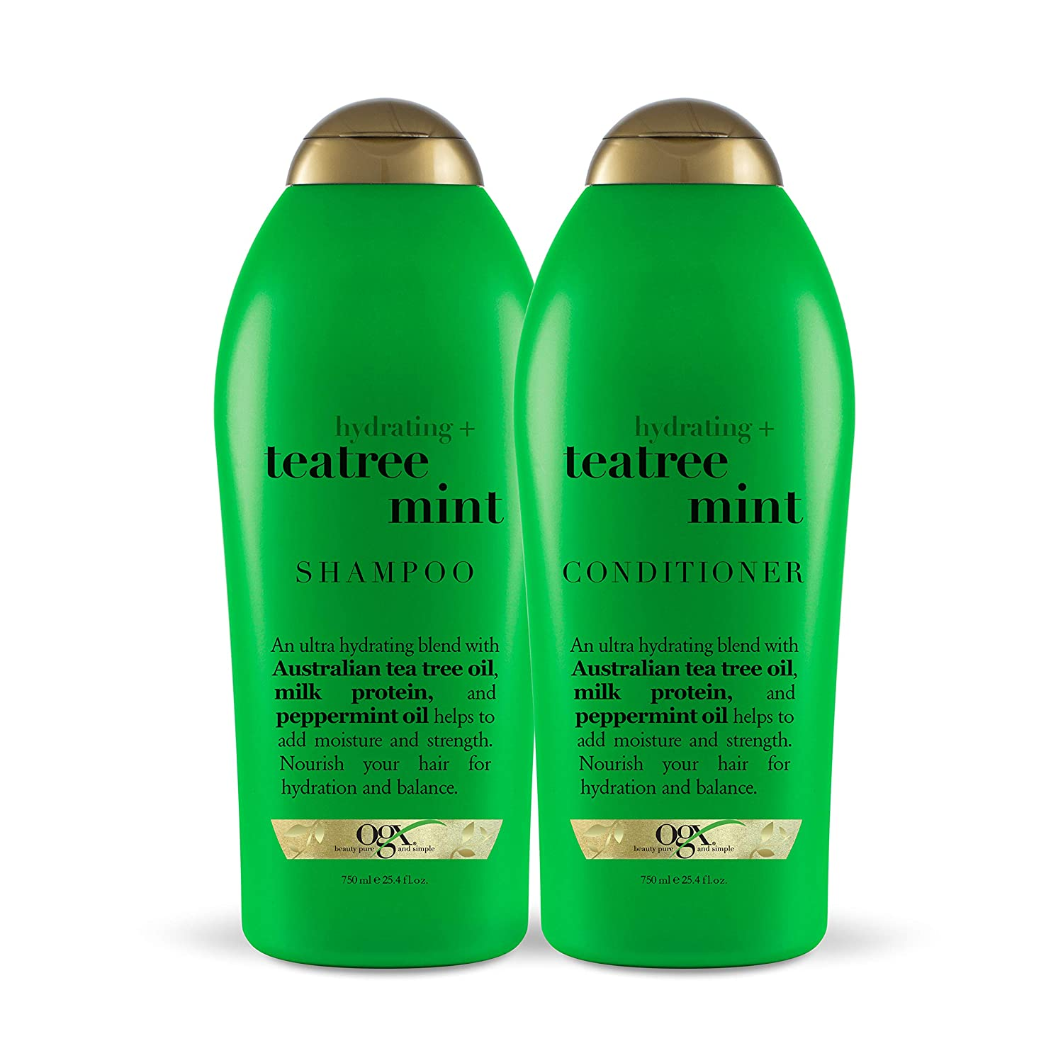 OGX Hydrating Tea Tree Mint Shampoo