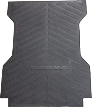 amazon com genuine toyota accessories pt580 35050 lb bed mat for select tacoma models automotive genuine toyota accessories pt580 35050 lb bed mat for select tacoma models