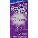 Crystal Light On the Go Grape with Caffeine (Pack of 6)