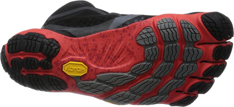 Vibram Fivefingers Bikila EVO WP Zapatilla de Running Caballero, Negro/Rojo, 40: Amazon.es: Deportes y aire libre