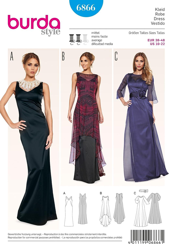 Burda Schnittmuster Kleid 15