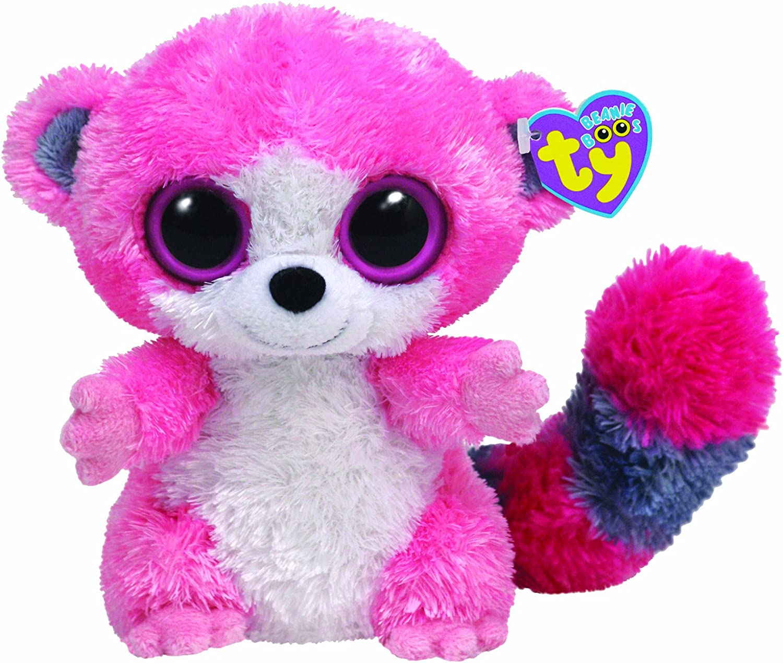 Ty 36007 Beanie Boos Bubblegum - Peluche de simio color rosa (15 cm) [Importado de Alemania]: Amazon.es: Juguetes y juegos