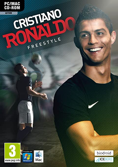 Cristiano ronaldo freestyling on to android this christmas.