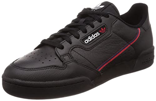 super popular 9d7b3 ea9fd adidas Continental 80, Scarpe Stringate Derby Uomo, Multicolore (Black  CblackScarle