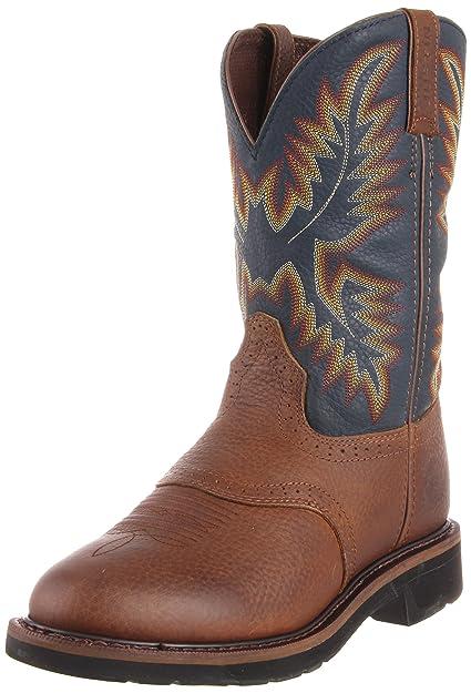8b28af0fed3 Amazon.com | Justin Original Work Boots Men's Stampede Work Boot ...