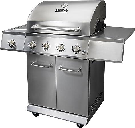 Dyna Glo 4 Burner Gas Grill - Storage Capacity
