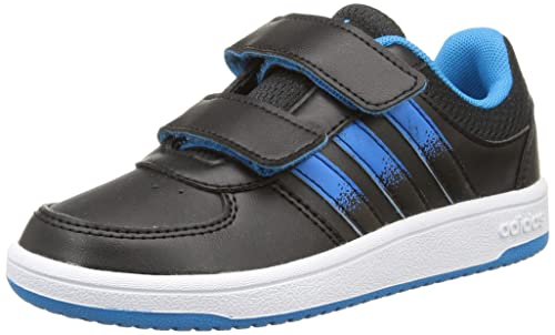 adidas Hoops Vs Cmf C Scarpe per Bambini, Unisex - Bambino, (Core Black