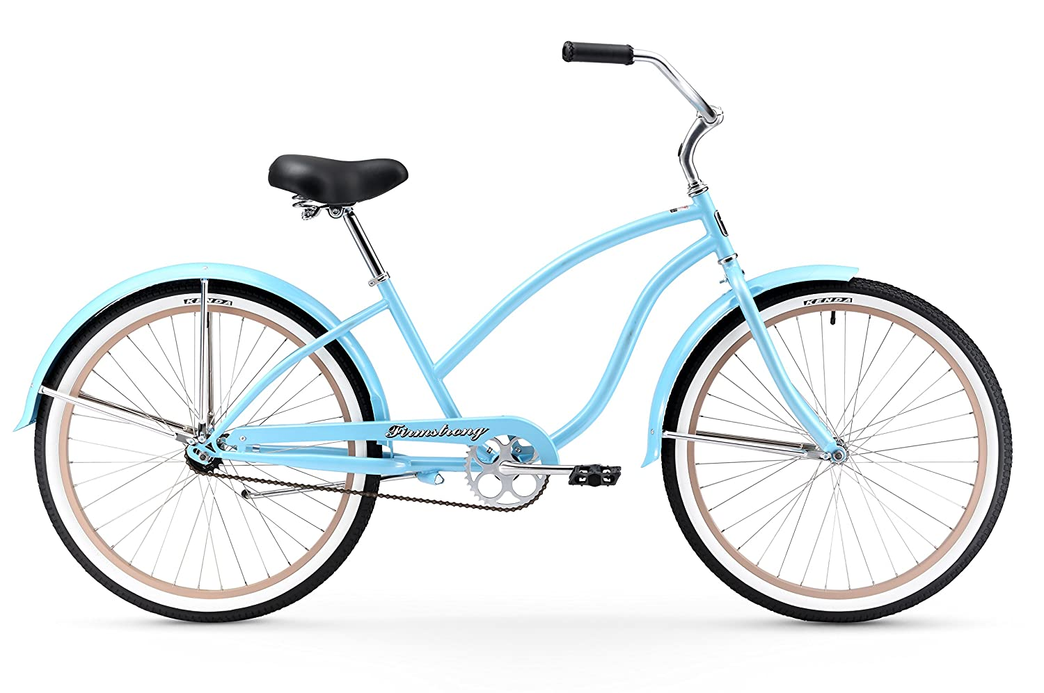 Firmstrong Chief Lady Beach Cruiser Bicycle, 26-Inch