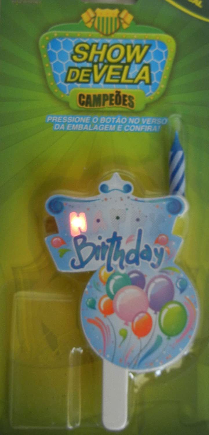 Music And Light Birthday Candle