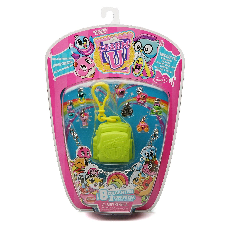 Amazon.com: Charm U – Bracelet with 8 Charms Backpack (Bizak 67001000): Toys & Games