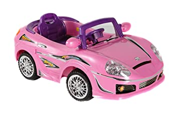 best ride on cars 698r 6v kids convertible pink
