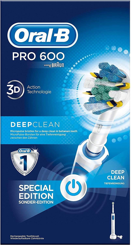 Oral-B PRO 600 Floss Action - Deep clean cepillo de dientes ...