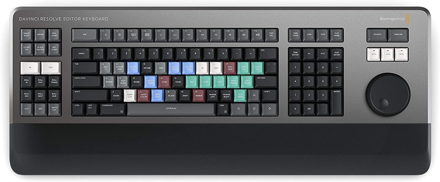 Blackmagic Design Davinci Resolve Editor Keyboard Amazon Co Uk Computers Accessories