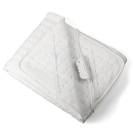 Vidabelle Manta Eléctrica para Cama 80 x 150 con 3 Niveles de Temperatura – Manta Térmica