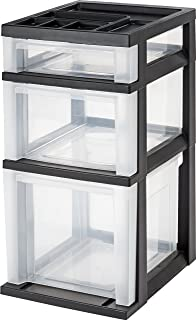 Amazon.com: Sterilite 36208002 Ultra 2 Drawer Cart, White Frame ...