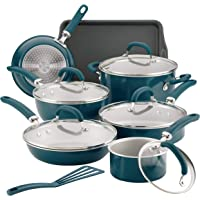 13-Piece Rachael Ray Aluminum Nonstick Cookware Set + $10 Kohls Cash