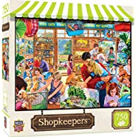 Masterpieces Shopkeepers Lucy's First Pet 750 Pieces Puzzle, Assorted