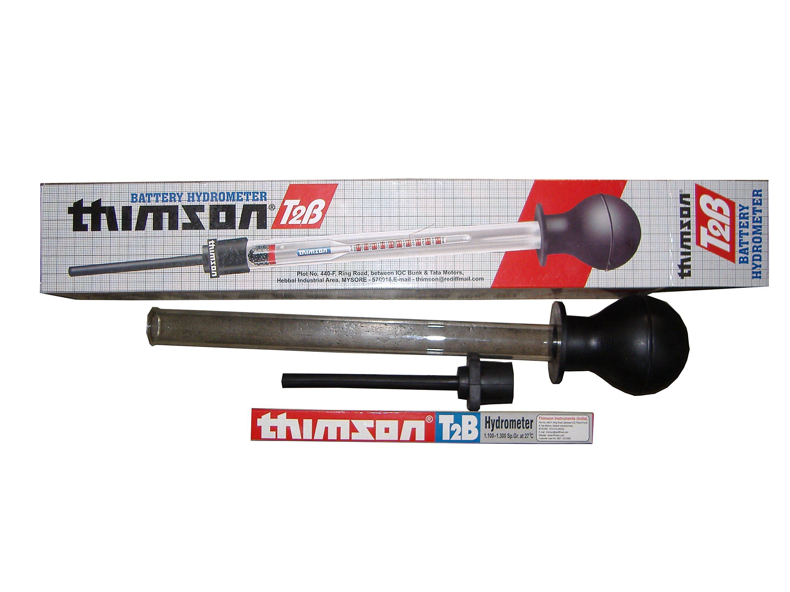 Thimson 12 Volt Inverter Battery Hydrometer Specific Gravity Tester