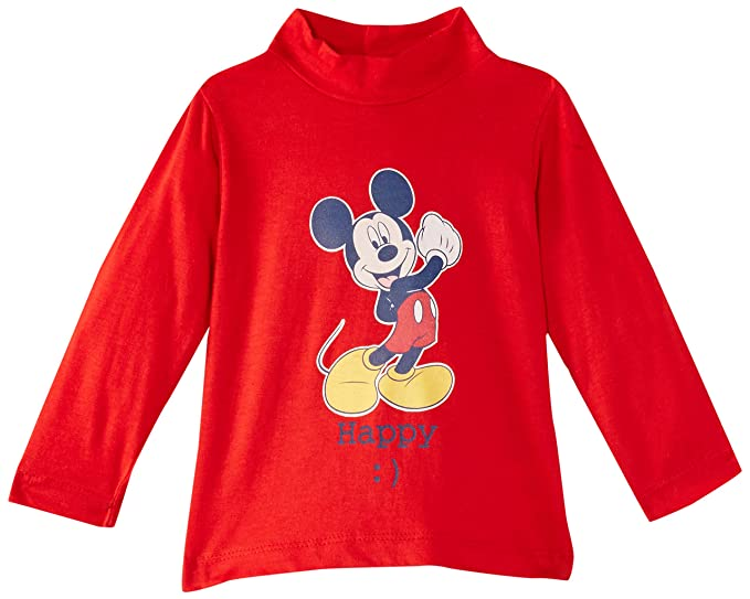 Disney Mickey Mouse NH0073, Sudadera para Niños, Rot (True Red/Blue)