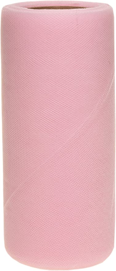 Falk Fabrics Tulle Spool 6-Inch by 100-Yard Williamsburg Blue