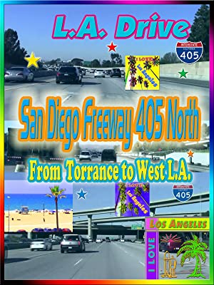 Amazon co uk: Watch Clip: San Diego Freeway 405 North from