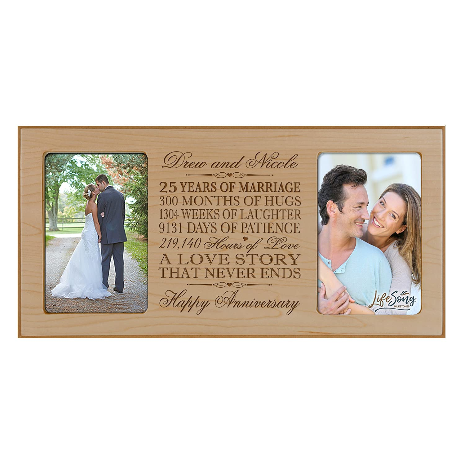Personalized 35 Year Anniversary Gift Her Him Couple Custom Engraved