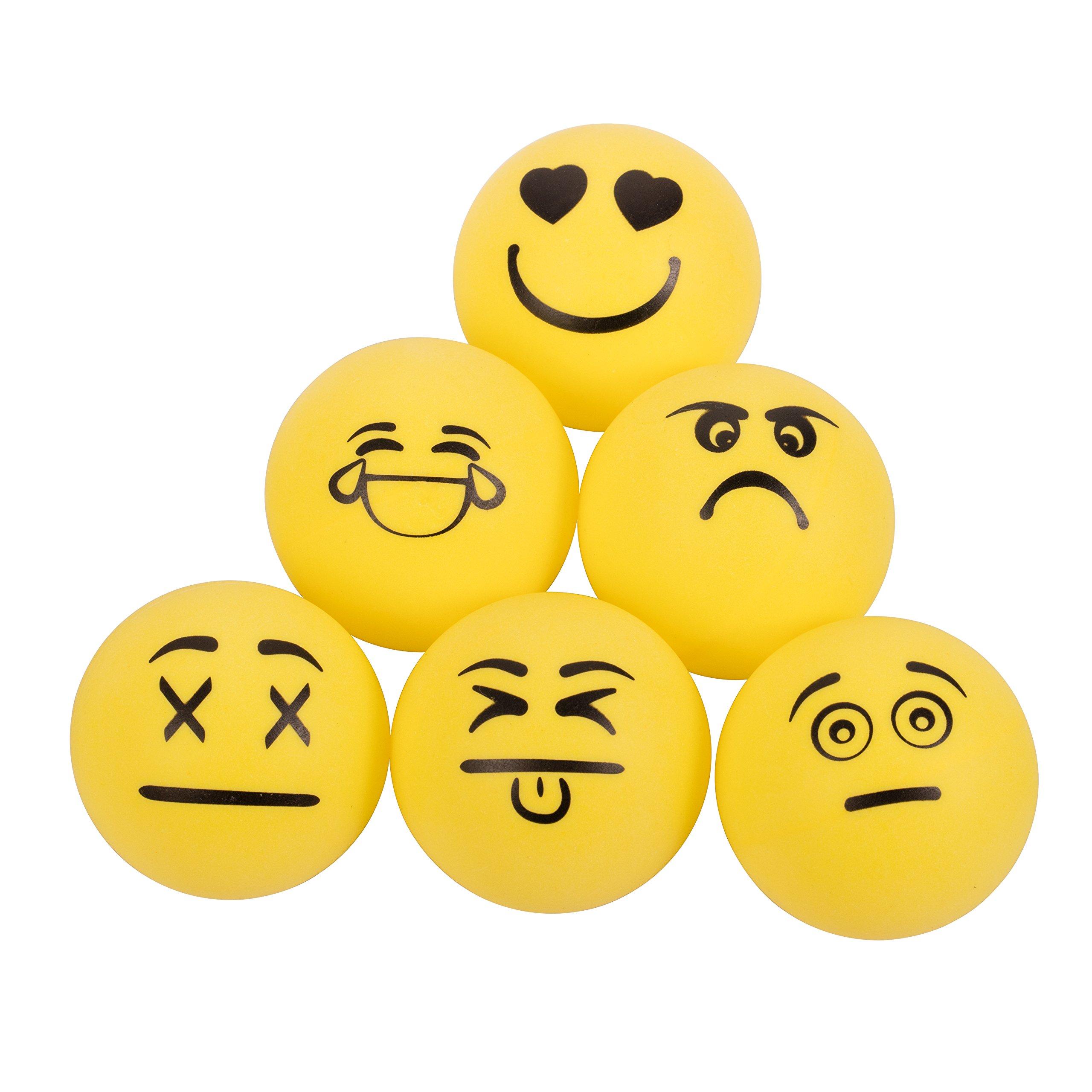 6 Pelotas de Ping Pong 1 Estrella STIGA emoji