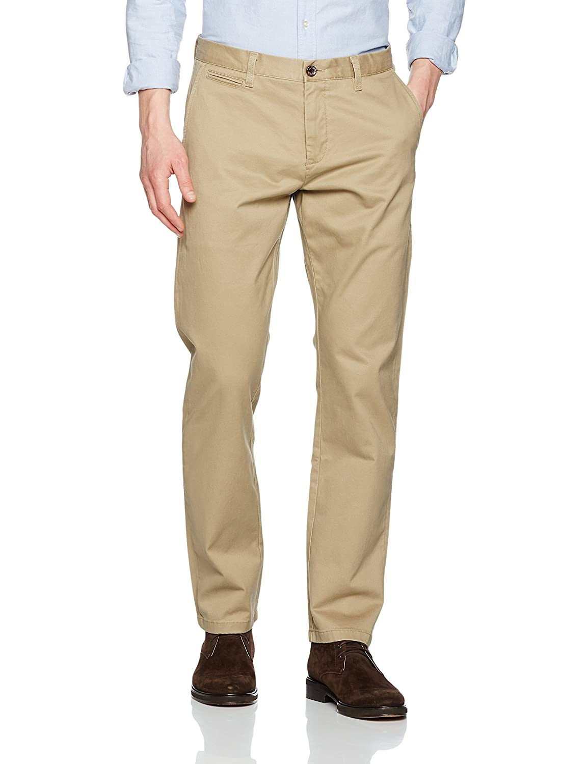Dockers Clean Khaki Marina Slim Tapered-Stretch Twill, Pantalones para Hombre