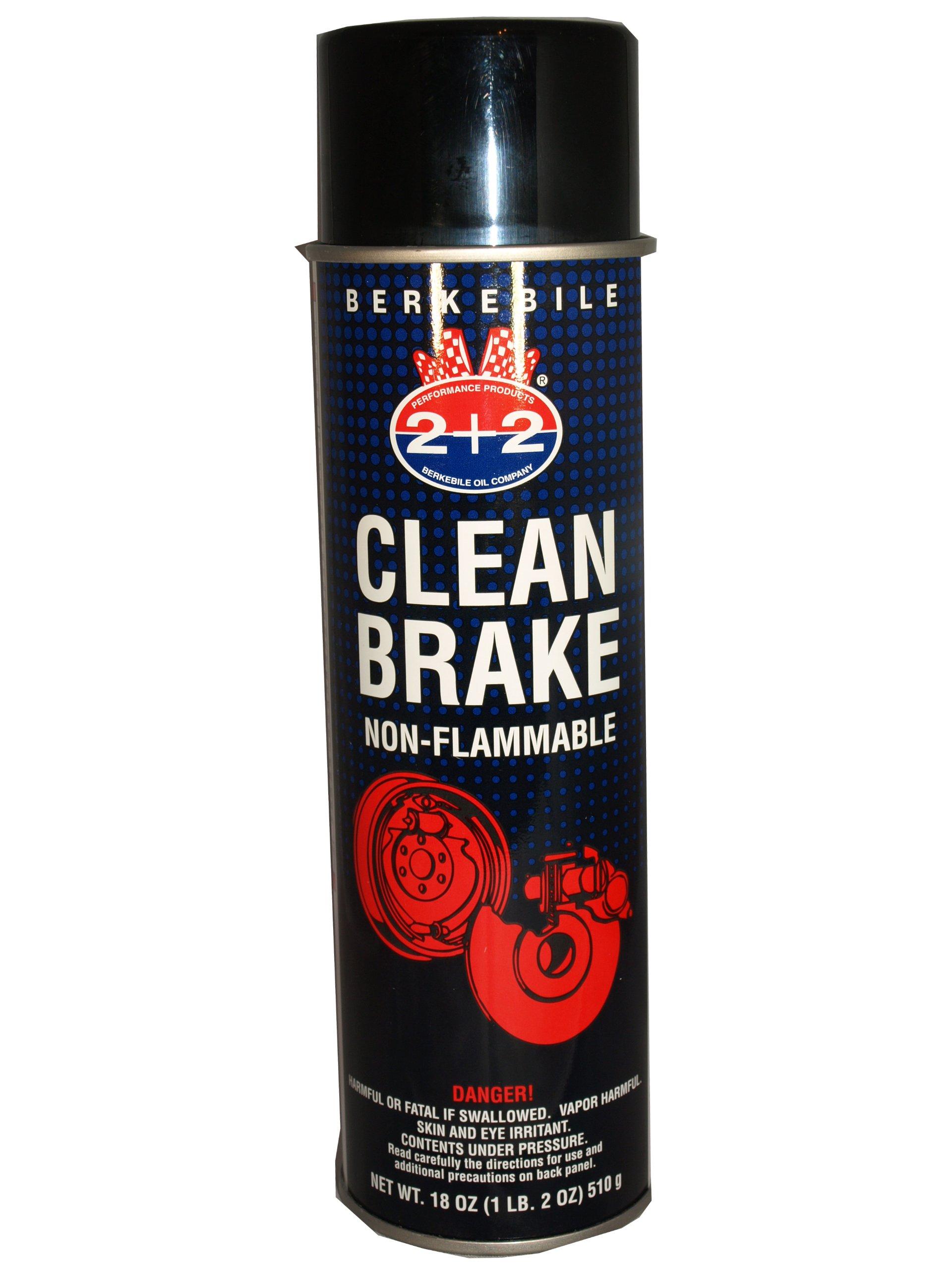 Berkebile Oil 2 + 2 B350 Clean Brake - 18 oz. Aerosol