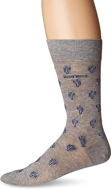 Hugo Boss Mens Rs Micropattern Dress Sock