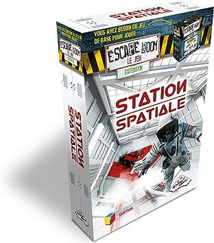 Riviera GameS- Pack Escape Room Le Jeu, Estación Espacial, extensión en francés: Amazon.es: Juguetes y juegos