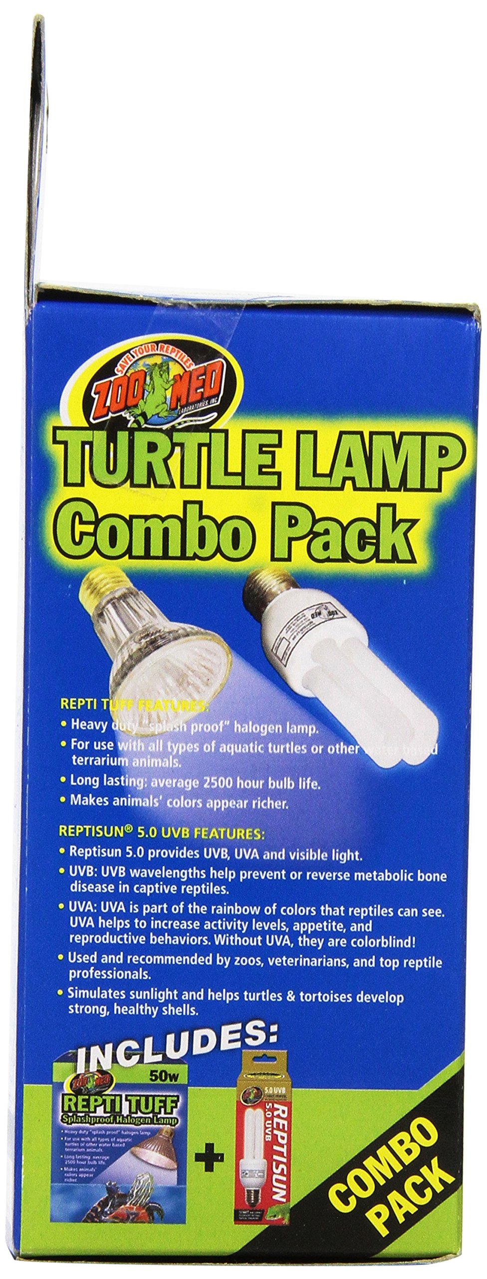 Aquatic Turtle Lamp Reptile Tuff Splashproof Halogen Heat Lamp Combo Pack Safe 97612370058 Ebay