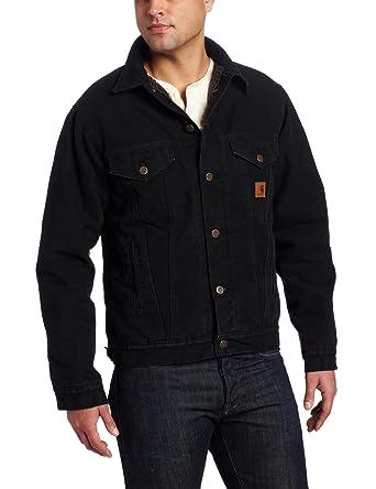 79e47dec6d Amazon.com: Carhartt Men's Big & Tall Sherpa Lined Sandstone Jean Jacket: Denim  Jackets: Clothing