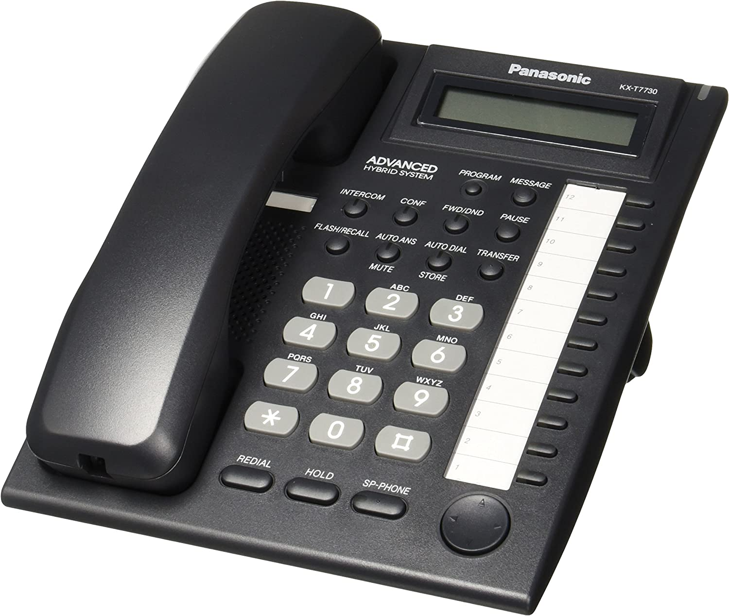Panasonic KX-T7730 Telephone Black