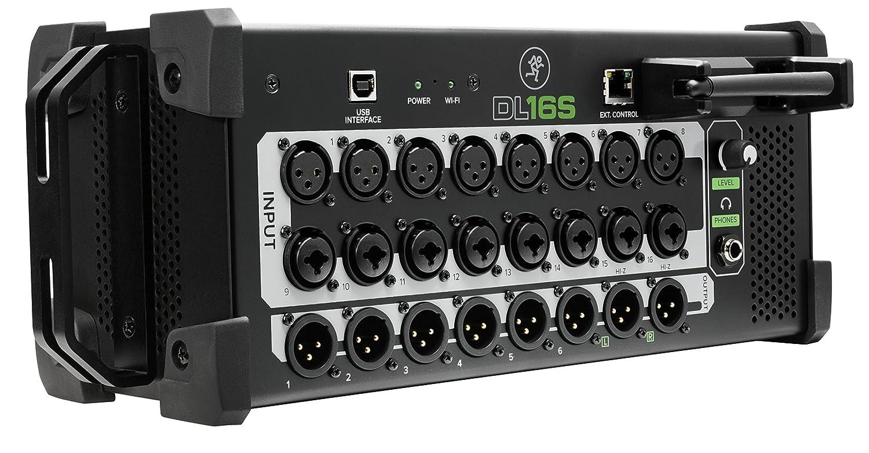 MACKIE マッキーワイヤレスコントロールデジタルミキサー DL16S 国内正規品   B07BWLN2CR