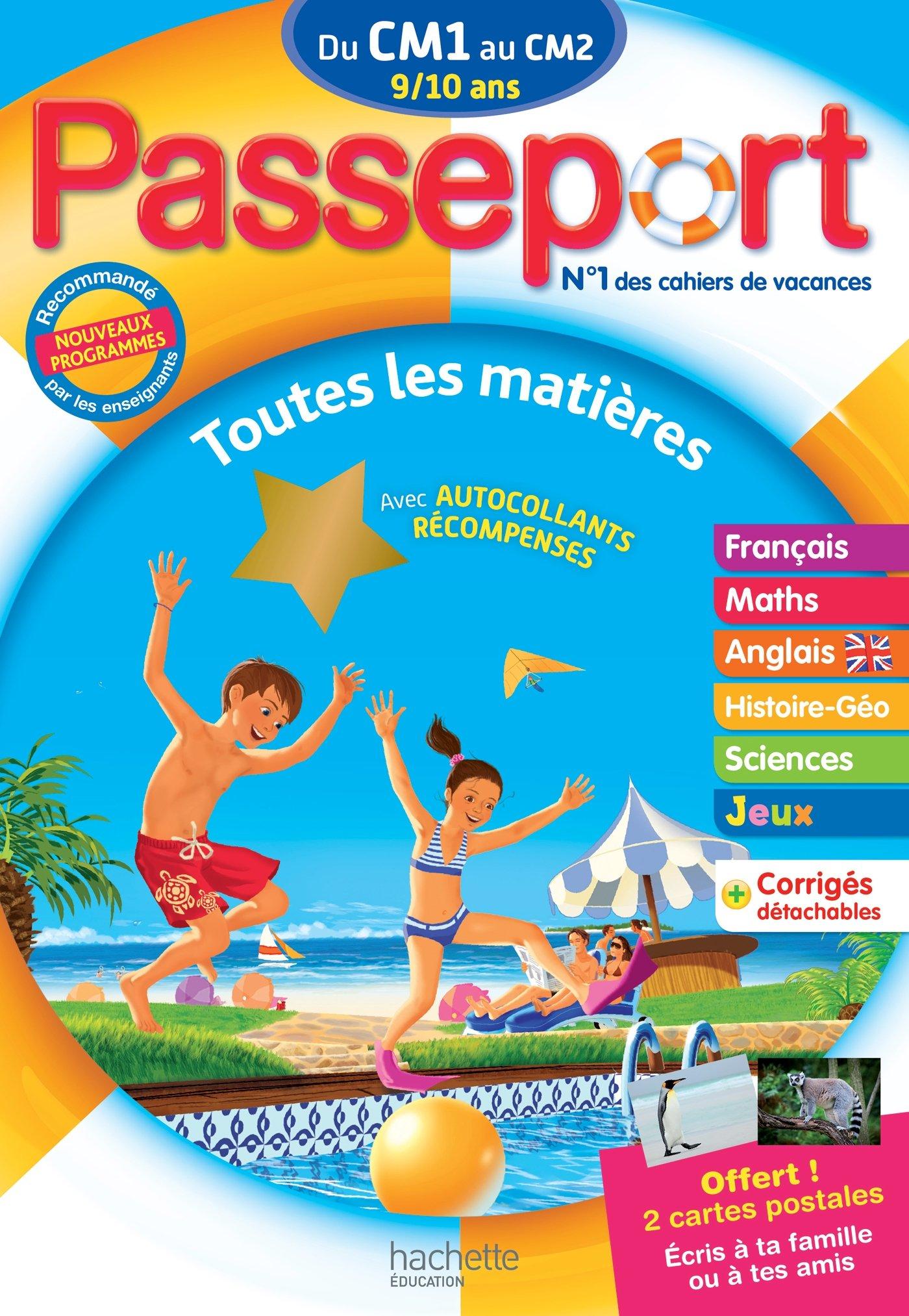 Passeport Du Cm1 Au Cm2 Cahier De Vacances Telecharger Lire