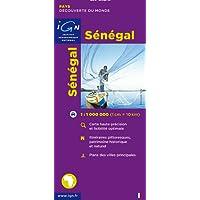 Carte routière : Sénégal